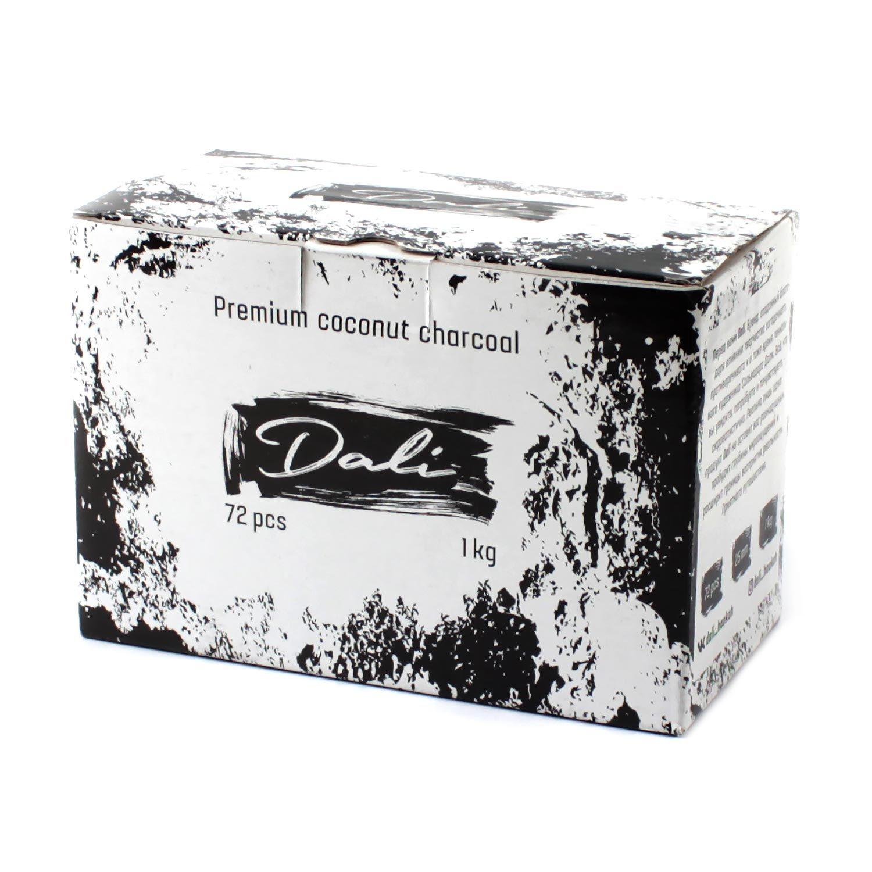 Уголь Dali 25 кубик (72 штуки)