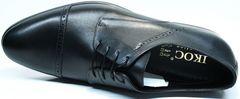 Туфли дерби мужские Икос 2235-1 black.