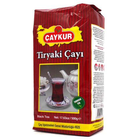 Турецкий черный чай Tiryaki, Çaykur, 500 г
