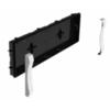 Рамка и коробка для встраиваемого монтажа в монолитную стену аварийного эвакуационного светильника с аккумулятором Formula 65 LED Li-Fe