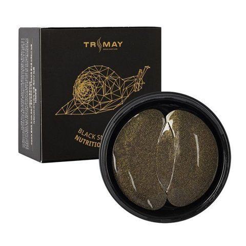 TRIMAY Патчи с муцином улитки Black Snail Gold Nutrition Eye Patch
