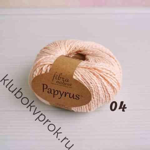 FIBRA NATURA PAPYRUS 229-04, Светлый персик