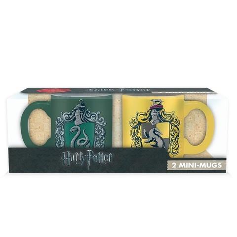 Набор кружек Harry Potter Slytherin and Hufflepuff 2 шт 110ml ABYMUG307