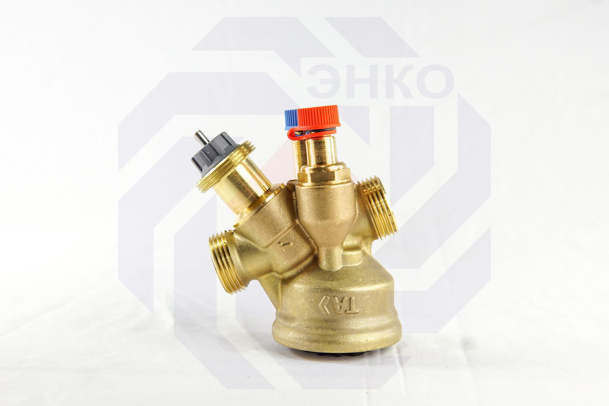 Клапан балансировочный и регулирующий IMI TA-COMPACT-P DN 15