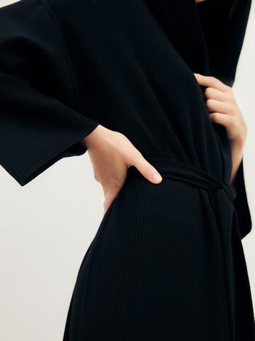 Женский кардиган черного цвета из вискозы - фото 6