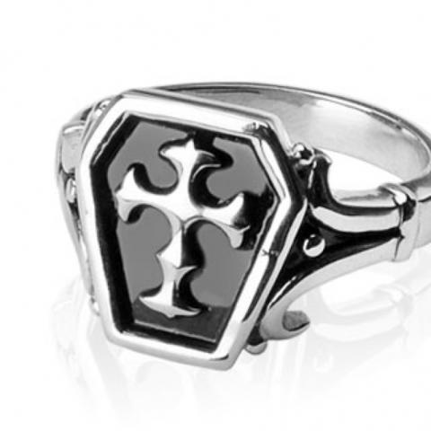 Перстень печатка SPIKES R-H0210