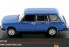 VAZ-2104 Lada blue 1985 IST158 IST Models 1:43
