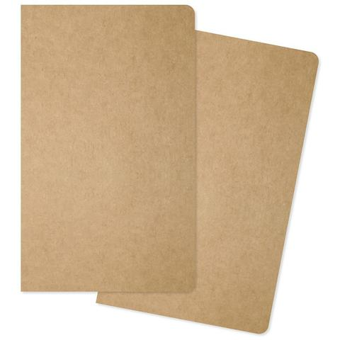 Комплект внутренних блоков  (13х21 см ) для блокнотов -2 шт- Carpe Diem Traveler's Notebook Inserts- One Dot Grid/One Lined