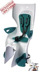 Велокресло Bellelli Summer Relax B-Fix White/Turquoise, крепление к подседельной трубе