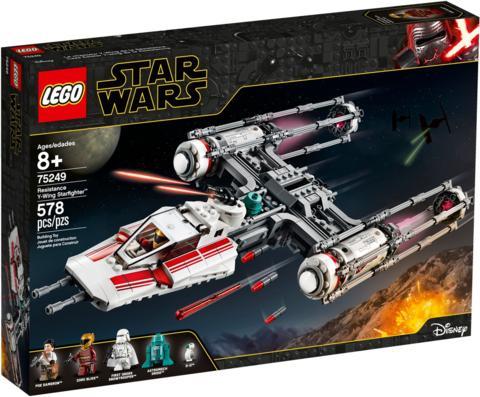 LEGO Star Wars: Звёздный истребитель Повстанцев типа Y 75249 — Resistance Y-Wing Starfighter — Лего Звездные войны Стар Ворз