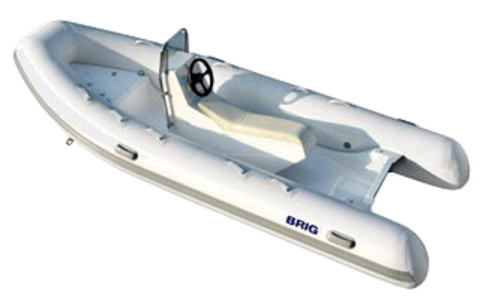 Лодка РИБ с жестким дном BRIG F450S