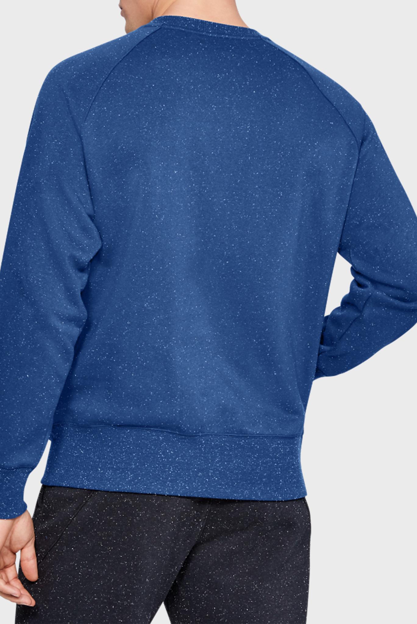 Мужской синий спортивный свитшот SPECKLED FLEECE CREW Under Armour