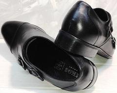 Модельные туфли на свадьбу мужские Ikoc 2205-1 BLC.