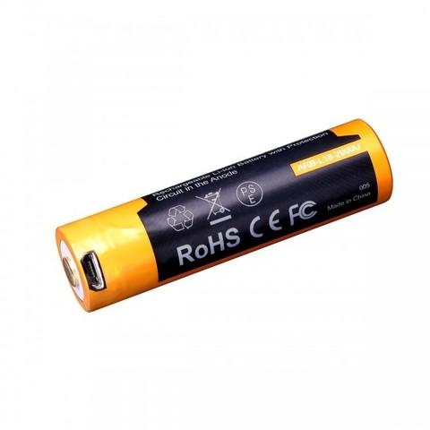Аккумулятор 18650 Fenix ARB-L18 2600U mAh с разъемом для USB*
