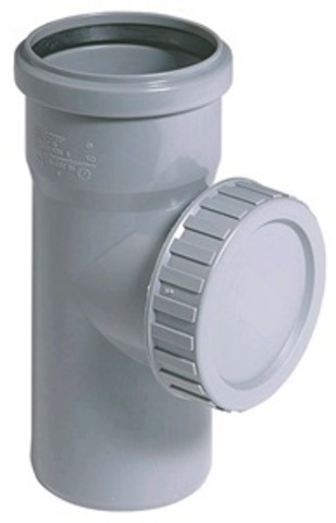 Ostendorf HTRE 50 мм ревизия канализационная (112600)