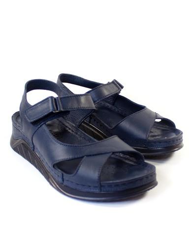 синие сандалии Mario Muzi