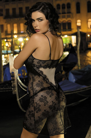 Сорочка женская с кружевом  MIA-MIA New Elegance ЭЛЕГАНС 12014