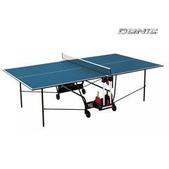 Теннисный стол DONIC INDOOR ROLLER 400 BLUE 19mm ,с сеткой