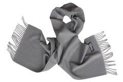 Шерстяной шарф серый 00302