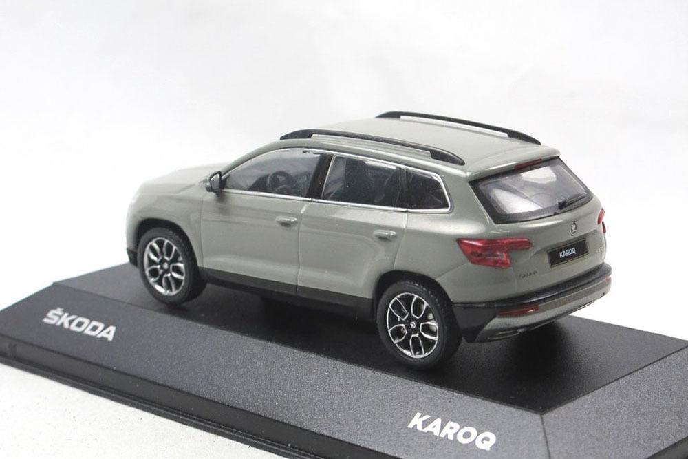 Коллекционная модель SKODA KAROQ 2019 GREY