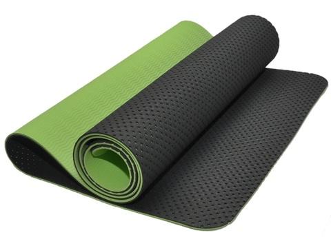 Коврик для йоги и фитнеса: TJD-FO066  (Зеленый)