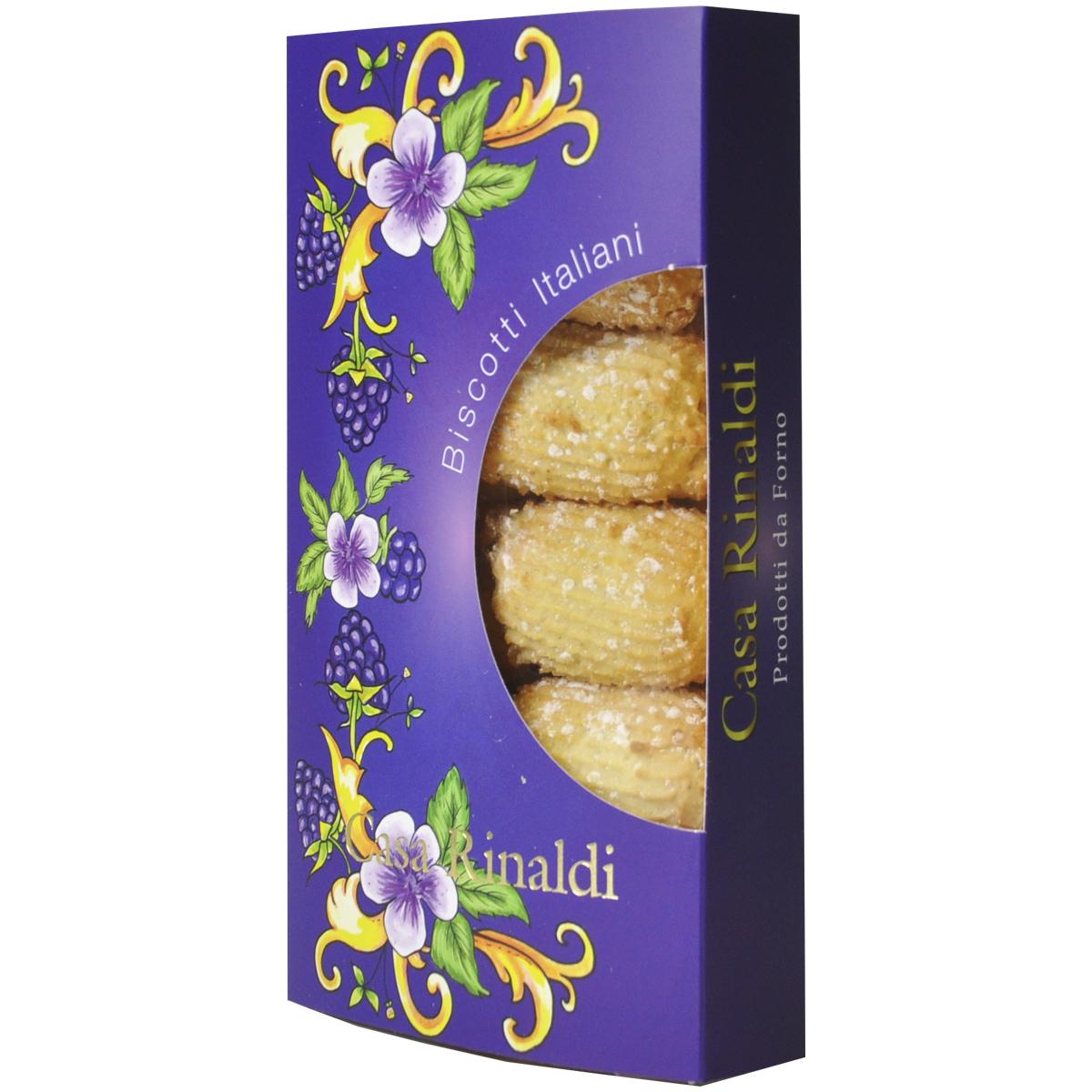 Печенье Casa Rinaldi Сигари с джемом из ежевики 200 гр
