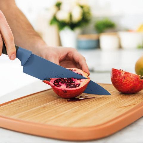 Нож поварской 14см Leo (серый)