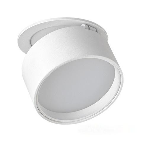 Встраиваемый светодиодный светильник 12W 3000K 120° M03-0061 white MEGALIGHT