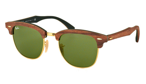 Clubmaster Wood RB 3016M 1182/4E