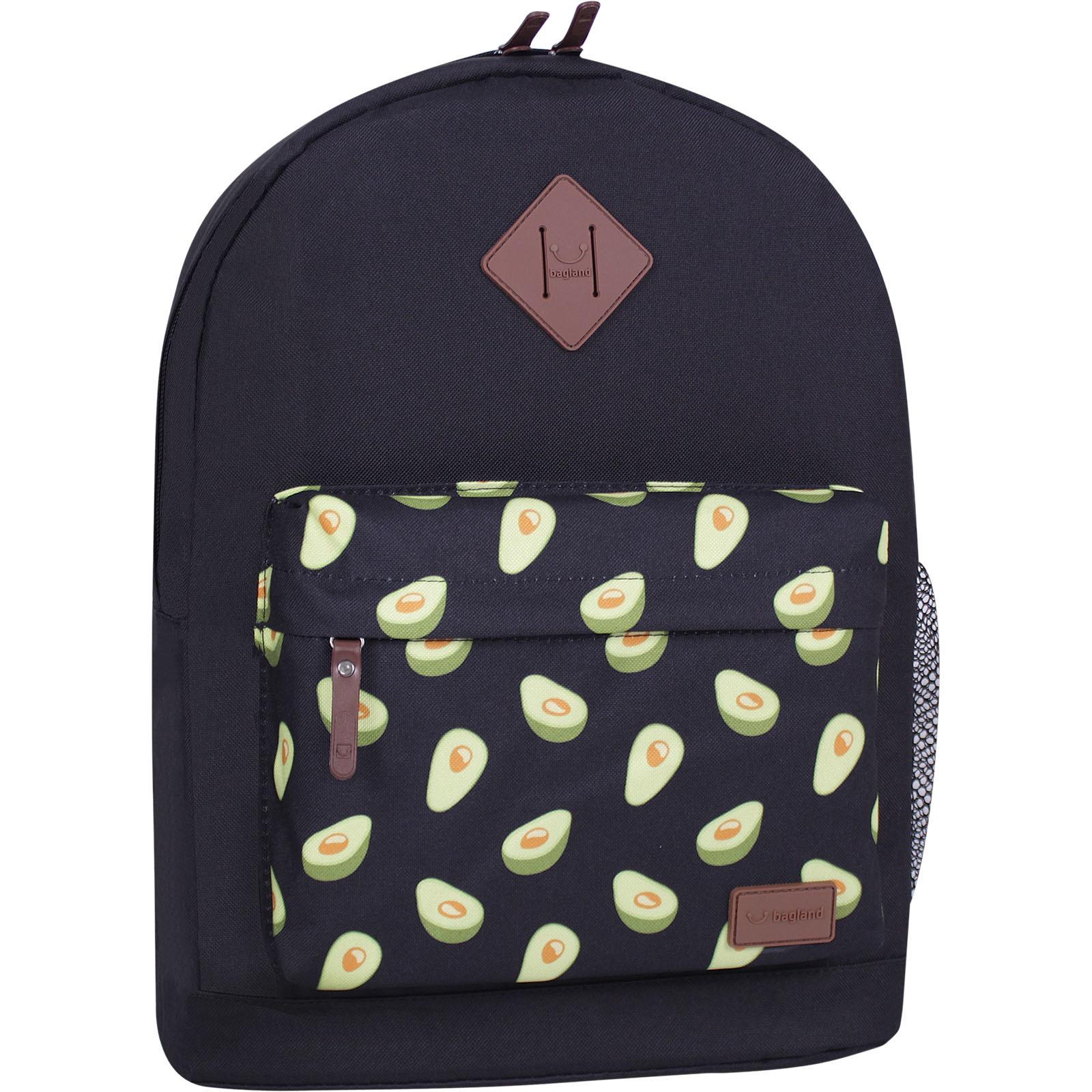 Молодежные рюкзаки Рюкзак Bagland Молодежный W/R 17 л. Чёрный 763 (00533662) IMG_6390_суб.763_-1600.jpg