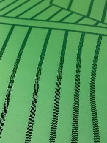 Легкий коврик для йоги Non slip Leaves 183*61*0,6 см