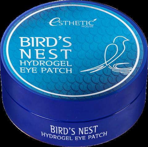 ESTHETIC HOUSE]Гидрогелевые патчи для глаз ЛАСТОЧКИНО ГНЕЗДО Bird's Nest Hydrogel EyePatch, 60 шт
