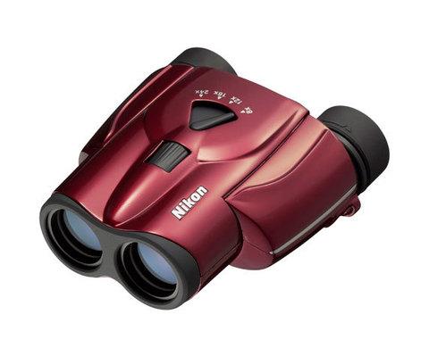 Бинокль Nikon Aculon T11 8-24x25 red
