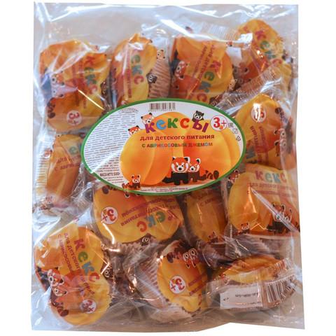 Кекс Махариши для детского питания с абрикосовым джемом, 500г