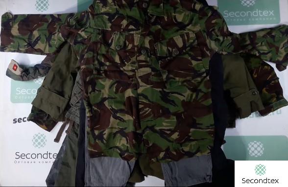 Военная одежда из Англии