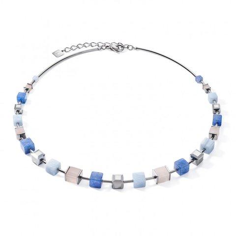 Колье Blue-Beige 5059/10-0710