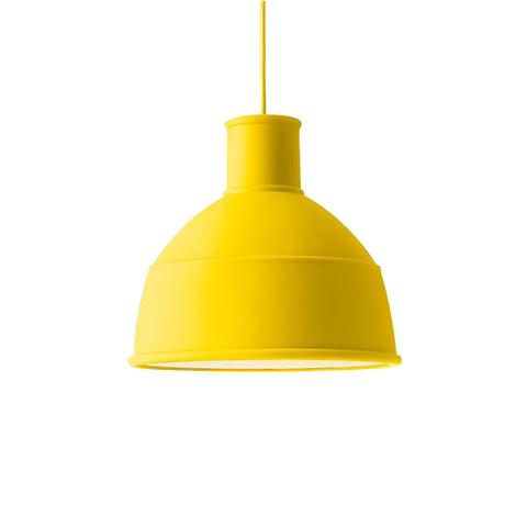 Подвесной светильник копия Unfold by Muuto D32 (желтый)
