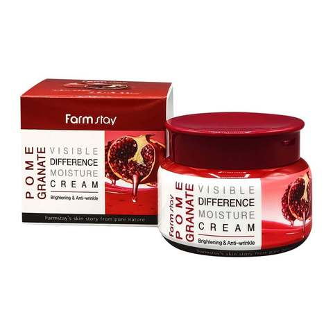 Увлажняющий крем для лица FarmStay Visible Difference Moisture Cream Pomegranate