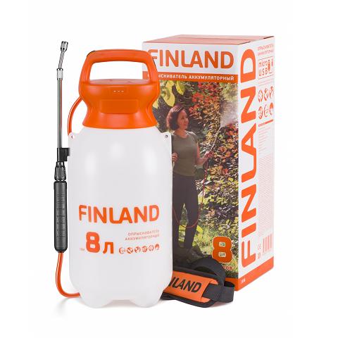 Опрыскиватель аккумуляторный  8 литров, FINLAND