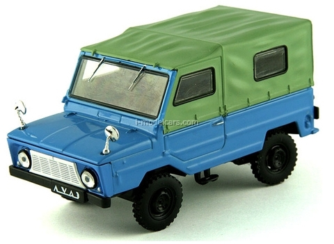 LUAZ-969A Volyn blue-green 1:43 DeAgostini Auto Legends USSR #70