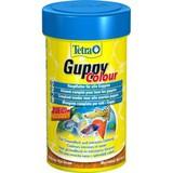 Tetra Guppy Colour Корм для всех видов рыбы Гуппи (хлопья) 100 мл. (197213)