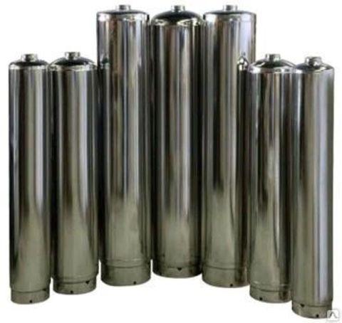 SS304-2062 Aquapro Нерж. корпус D51.5xH158, толщина стенки 2мм