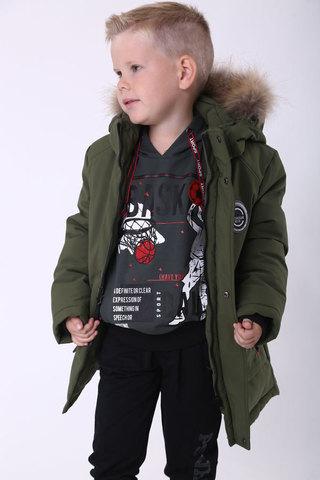 Куртка удлиненная для мальчика Minika, 940