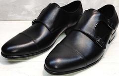 Черные классические туфли под брюки мужские Ikoc 2205-1 BLC.