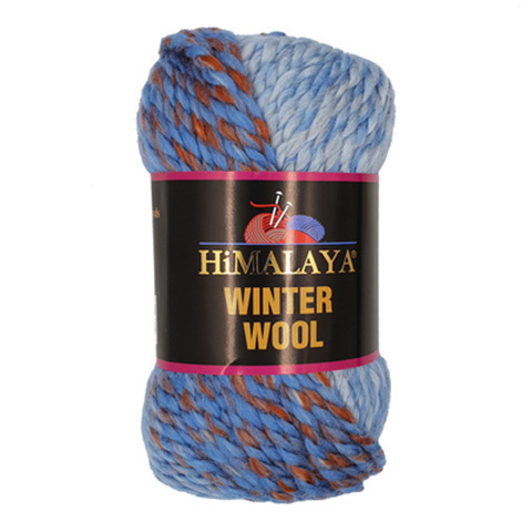 Winter Wool HIMALAYA (20% шерсть, 80% акрил, 100гр/70м)