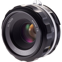 Объектив Voigtlander Ultron 40mm f/2 SL IIS Aspherical Lens for Nikon F