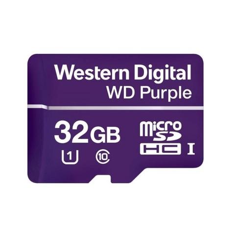 Карта памяти Micro SDXC WD Purple 32GB