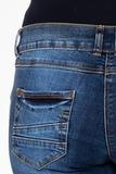 Джинсы для беременных 08072 синий