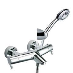 Смеситель термостатический для ванны с изливом и душевым комплектом DRAKO 3339AS