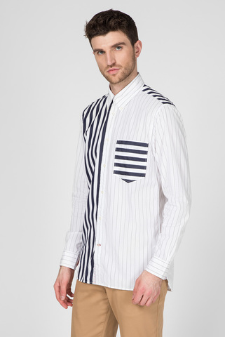 Мужская рубашка в полоску MIX AND MATCH STRIPE Tommy Hilfiger